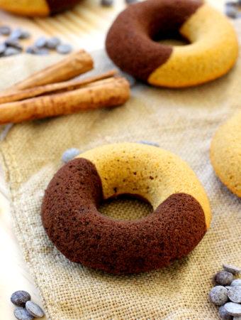 Donuts de chocolate y calabaza...