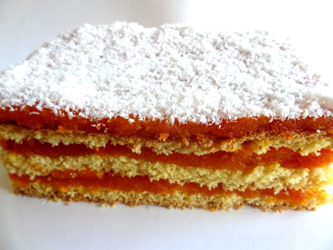 Foto de la receta de tarta de zanahoria y coco