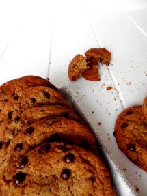 Foto de la receta de galletas con peptitas de chocolate