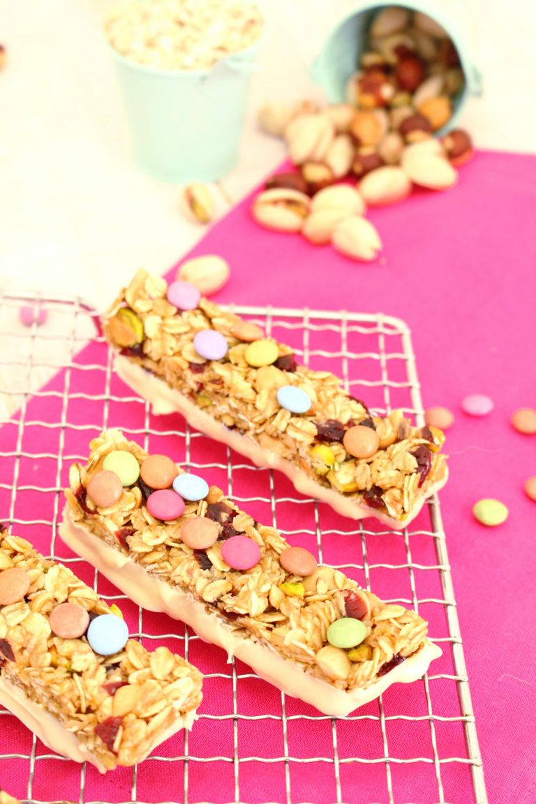 Foto de como hacer barritas de cereales infantiles