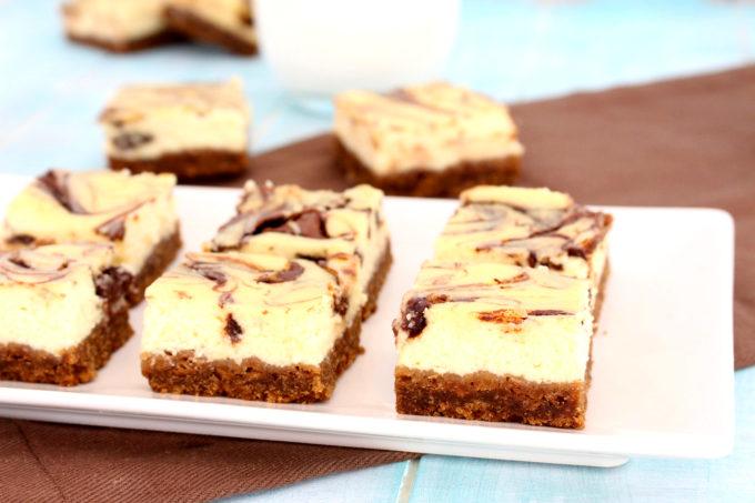 Foto de la receta de tarta de queso de Nocilla