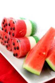 Foto de la receta de push up cake pops de sandía
