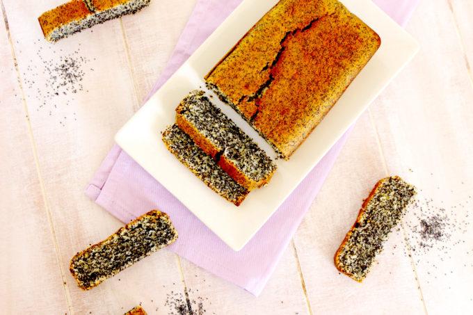 Foto de la receta de bizcocho de amapolas