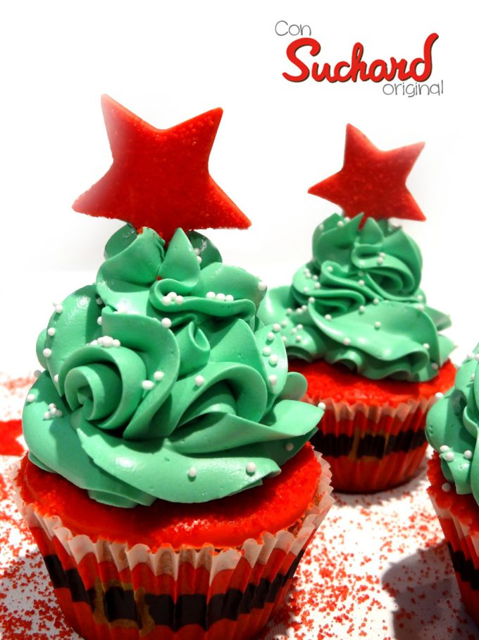 Foto de la receta de cupcakes de chocolate Suchard