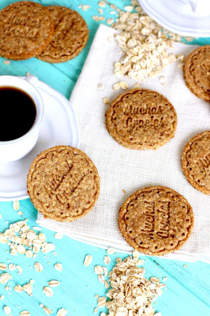 Foto de la receta de galletas de avena