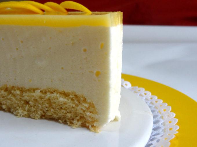 Foto de la receta de tarta de limón casera