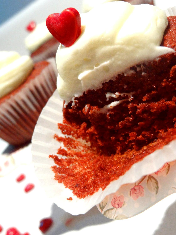Foto de la receta de cupcakes Red Velvet