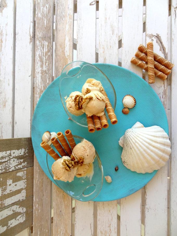Foto de la receta de helado de dulce de leche casero