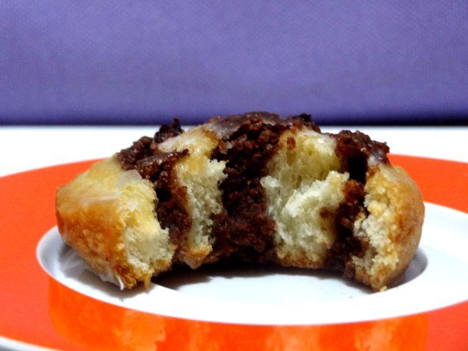 Foto de la receta de caracolas de hojaldre con pasas