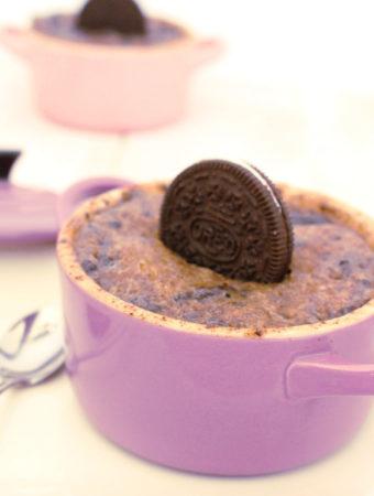 Foto de la receta de Mugcake de Oreo