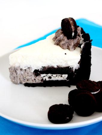 Foto de la receta de tarta de Oreo sin horno