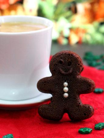 Foto de la receta de brownie de jengibre y chocolate