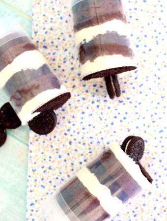 Foto de la receta de tiramisú con galletas Oreo