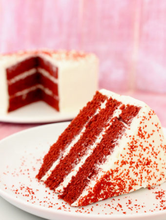 Tarta red velvet layer cake