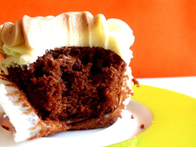 Foto de la receta de cupcakes de 3 chocolates