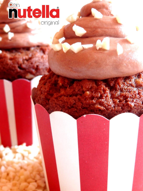 Foto de la receta de cupcakes de Nutella