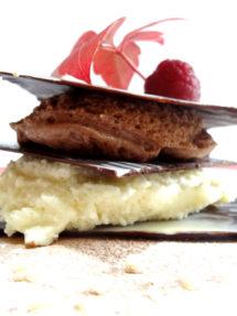 Foto de la receta de milhojas de chocolate