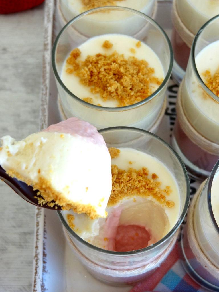 Foto de la receta de cheesecake de fresa
