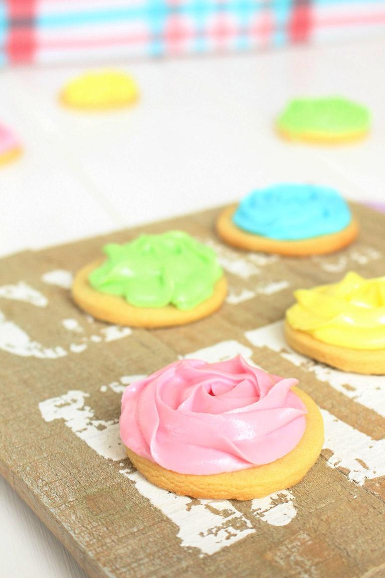 Foto de la receta de galletas de mantequilla con royal icing