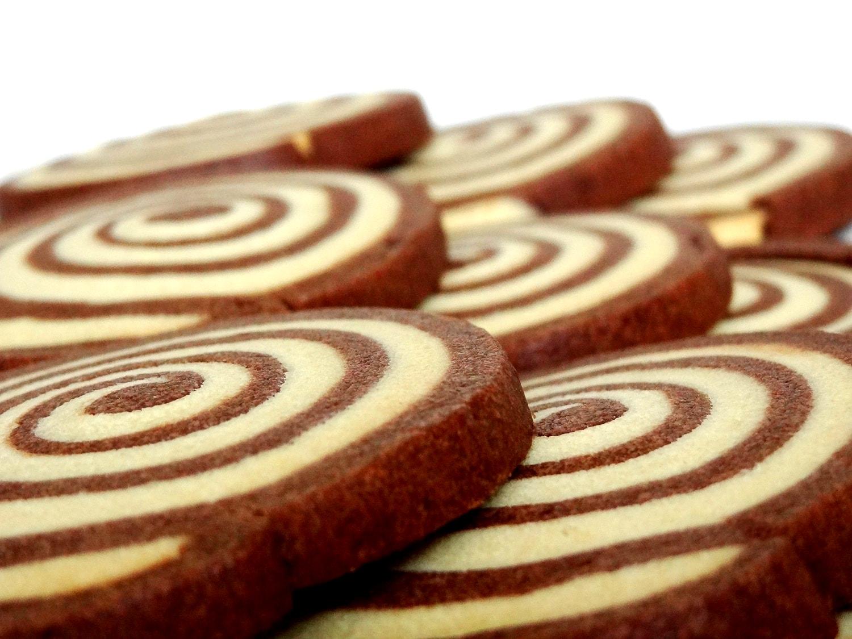 Galletas De Chocolate Y Vainilla En Forma De Espiral Recetas  ~ Como Hacer Galletas De Mantequilla