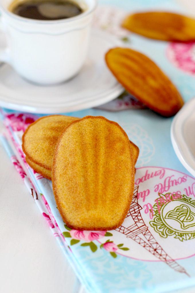 Foto de la receta de madeleines de calabaza