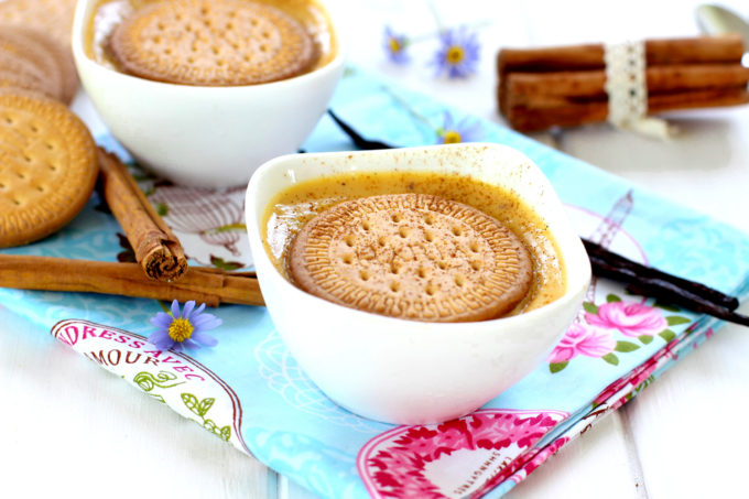 Foto de la receta de natillas caseras de vainilla