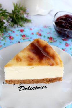 Foto de la receta de New York cheesecake casera