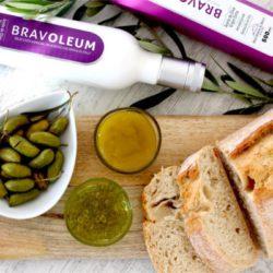 Foto con la variedad de los productos Aove Bravoleum