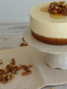 Foto de la receta de cheesecake con un toque de ron