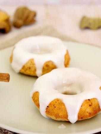 Foto de la receta de donuts de manzana y canela