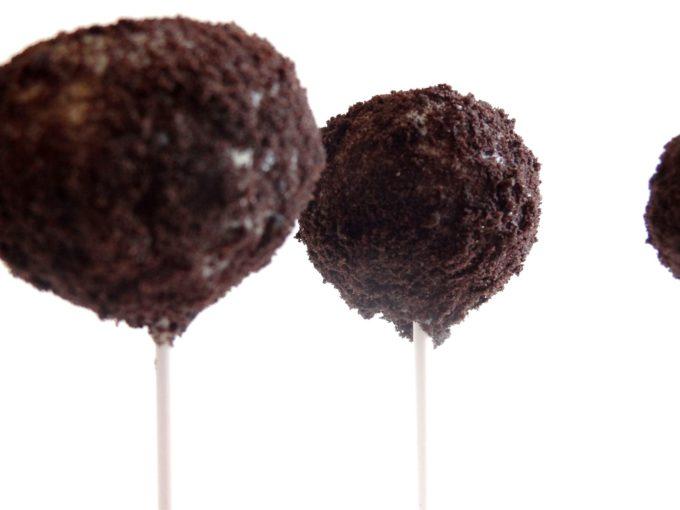 Foto de la receta de cake pops de Oreo