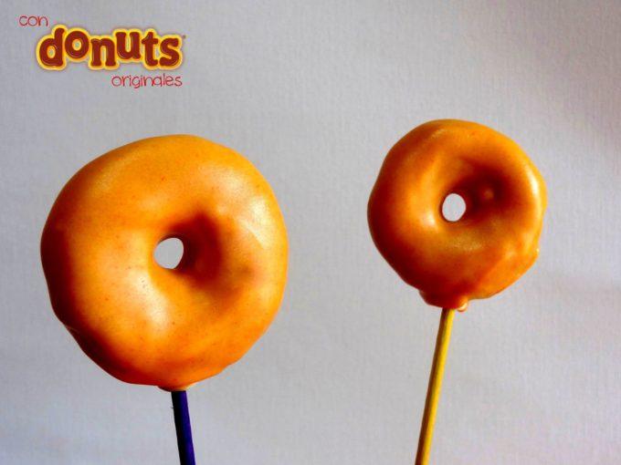 Foto de la receta de donut cake pop