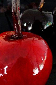 Foto de la receta de manzanas de caramelo para Halloween