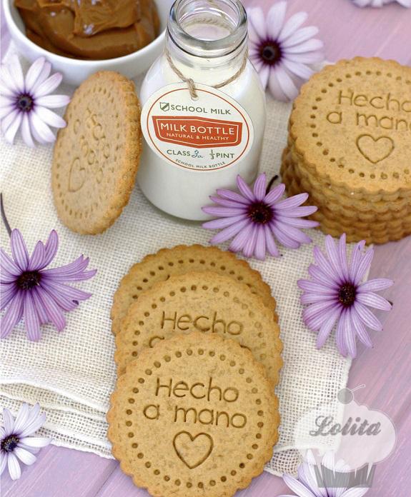 Foto de una receta del libro La repostería de Lolita la pastelera