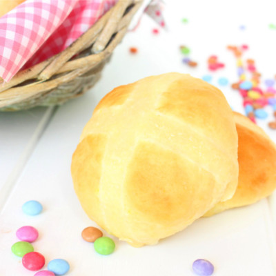Foto de la receta de panecillos de Pascua