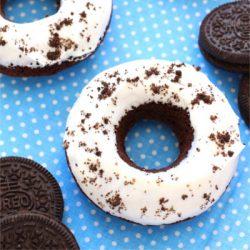 Foto de la receta de donuts caseros de Oreo