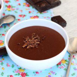 Foto de la receta de natillas de chocolate caseras