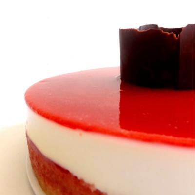 Fotos de la receta de cheesecake de fresa