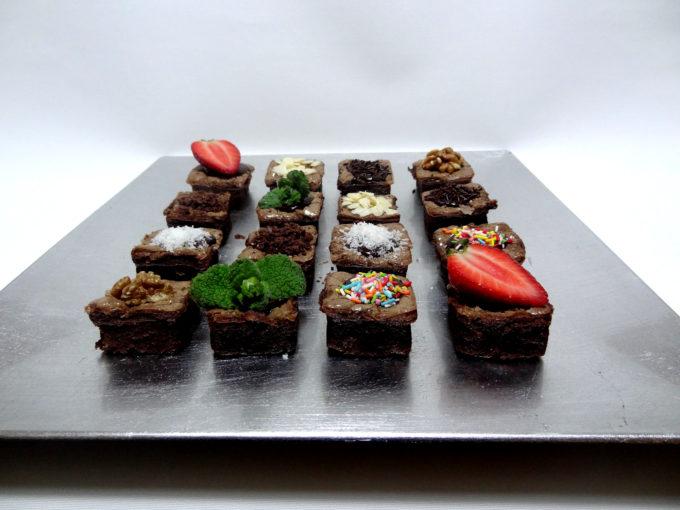 Foto de la receta de brownie de chocolate con nueces