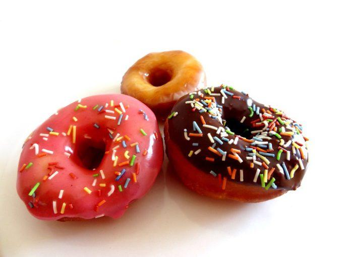 Foto de la receta de donuts americanos